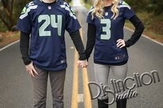 Seattle Seahawks Engagement Photography