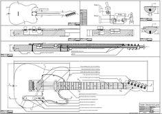 Projeto Das Guitarras Explorer, Lespaul, Strato E Tele Pdf - R$ 12,99 no MercadoLivre