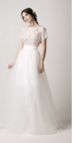36 Ultra-Glamorous Two-Piece Wedding Dresses