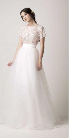 36 Ultra-Glamorous Two-Piece Wedding Dresses