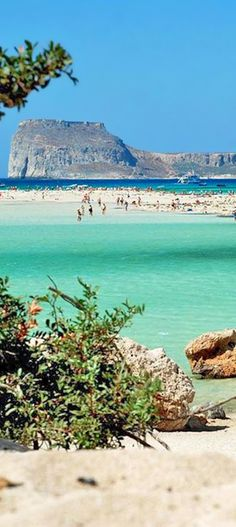 Balos in Kissamos area, Chania, Crete, Greece| http://www.greeceviewer.com/odigos/en/Chania