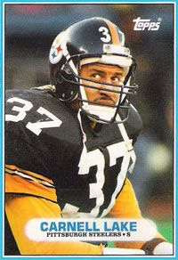 Carnell Lake - Pittsburgh Steelers