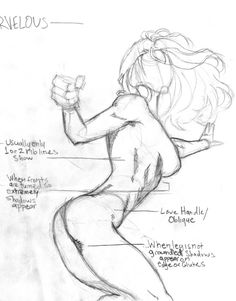 Female Action Pose 2 by Atlas0 on DeviantArt
