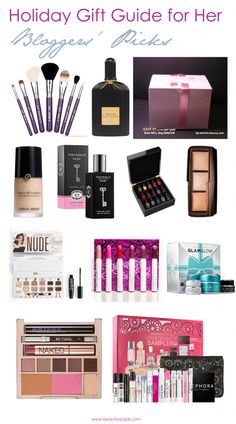Holiday Gift Guide for Her: Beauty Bloggers' Picks