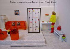 1:6th Scale Modern Miniature Dollhouse by MiniaturesfromAvalon