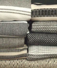Neutral House handwoven hammam towels. theneutralhouse.com