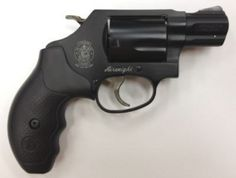 Smith & Wesson 360 38 Special Revolver 1.8in Matte Black 5 Round Black Rubber Grips