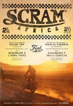 Scram Africa 2013 | Fuel Bespoke Motorcycles
