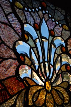 Tiffany Stained Glass - Winchester Mystery House 2009