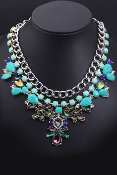 Exquisite Multi-strand Necklace Set