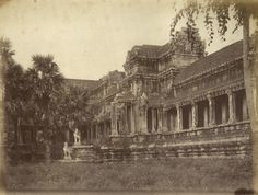 GSELL CAMBODGE Les temples d'Angkor vintage album - 1875
