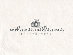 Premade Photography logo design  logo by PhotographyLogos on Etsy