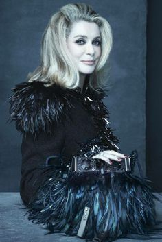 PREVIEW: LOUIS VUITTON SS 2014 AD CAMPAIGN The beauty queen Catherine Deneuve Photography: Steven Meisel