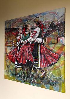 pucik / Dievčence Polish Christmas, Color Pencil Art, Colored Pencils, Kultura, Traditional, Gallery, Painting, Art, Paint