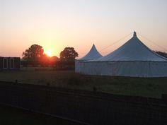 LPM Bohemia 40' x 40' Traditional Canvas Pole Tent