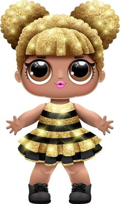 Details about Doll iron on transfer with instruction - Her Crochet Girls Birthday Party Themes, Girl Birthday, Birthday Parties, Lol Dolls, Cute Dolls, Lol Doll Cake, Fairy Figurines, Doll Party, Queen Bees