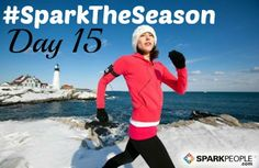 Hope everyone has a fun Sunday in store! Tell us one thing you're doing today to reach your daily goal for our #SparkTheSeason challenge. Ready, GO!! | via @SparkPeople #fitness #exercise #winter #challenge