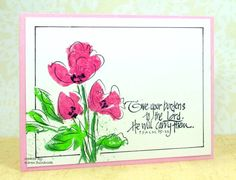 IC408, Flowers for You by k dunbrook - Cards and Paper Crafts at Splitcoaststampers