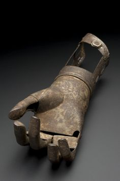 Artificial hand and forearm, 1601-1700