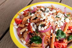 Tuscan Pasta Fresca (A Noodles & Company copycat recipe) - with vegan and gluten-free options