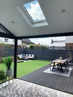 Our Modern Conservatory Extension- Before and After Home Renovation Project 5 - Mummy Daddy Me # Modern Conservatory, Conservatory Extension, House Extension Plans, House Extension Design, Patio Extension Ideas, Backyard Patio Designs, Backyard Landscaping, Patio Edging, Garden Room Extensions