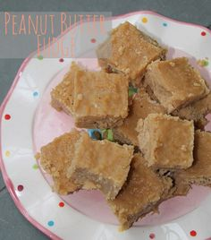 Peanut Butter Fudge- This is a blast from the past.  My Grandmother Whitehead, from Phenix City, Alabama used to make this for us every year.  Great memories!