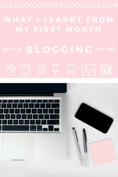 BLOG // My disastrous first month and things you should avoid doing if you're planning on starting up a blog