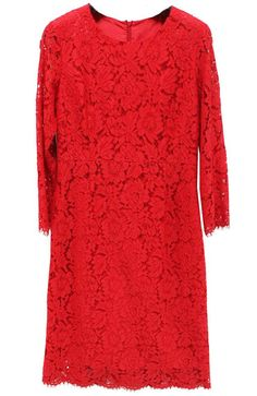 special red lace dress