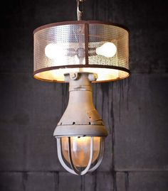 Lilah - Explosion Hanging Lamp - *Rustoration Lighting is only sold at our Nashville shop and not online. They are one-of-a-kind.