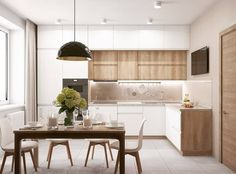 Awesome modern kitchen room are readily available on our internet site. Check it out and you wont be sorry you did. Kitchen Room Design, Kitchen Cabinet Design, Kitchen Layout, Modern Kitchen Cabinets, Home Decor Kitchen, Interior Design Kitchen, Kitchen Furniture, Home Kitchens, Modern Kitchen Interiors
