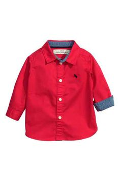 H&M - Cotton shirt £6.99
