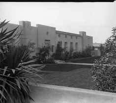 Historic Photograph of Hollywood Studios