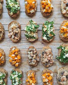 En @gastronosfera tenéis la receta de estos Crostinis otoñales. ¡No te los pierdas!
