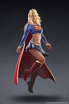 Batgirl cali logan superheroine in peril amusing