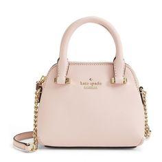 Women's kate spade new york 'cedar street - mini maise' crossbody bag ($185) ❤ liked on Polyvore featuring bags, handbags, shoulder bags, kate spade, purses, mini crossbody, pink crossbody, man bag, pink purse and kate spade handbag