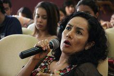 Factor 3: Profesores. Profesora Luxelvira Gamboa intervención conferencia de invitada Internacional Rosalia Winoucour – 2013 – Paraninfo, Universidad de Cartagena. #Unicartagena #ComunicaciónSocial