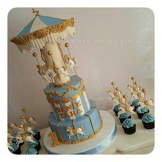 Deniz Taha'nın 1 yaş pastası ve cupcakleri #mutlutatlaratolyesi