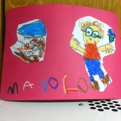 María me dibuja...