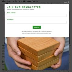 Sign up for our newsletter and be the first to hear about new products, news and special offers! We will only send 1-2 emails per month and won't share or sell your info. Link to sign up in our profile.  .  .  .  .  .  .  .  .    #newsletter #enewsletter #mailinglist #signup #sales #deals #specialoffers #newproducts #handcrafted #handmade #americanmade #tennesseemade #solidwoodfurniture #cuttingboards #platformbeds