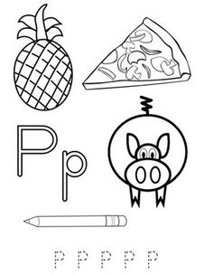 trace the words with the letter x coloring page twisty noodle - Letter P Coloring Sheet
