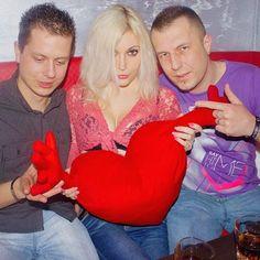 DJ Mirjami with her friends in Farmacon Club Sexy DJane Mirjami