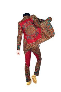 African Men's fashion & style Vem saber mais sobre a Dent de Man… African Fashion Men, African Inspired Fashion, Africa Fashion, Ankara Fashion, African Women, Fashion Mode, Mens Fashion, Fashion Menswear, Mode Geek