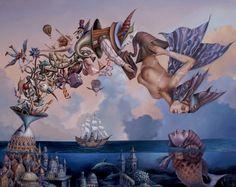 Tomek Sętowski - Fabryka Snów - Painting