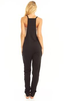 mudra womens yoga lounge jumpsuit/overall romper in black from satya yoga wear. Yoga Pants Outfit, Playsuit Romper, Drop Crotch, Yoga Fashion, Yoga Wear, Jumpers For Women, Jumpsuits For Women, Pretty Outfits, Athletic Tank Tops