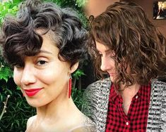 47 Stylish Short Curly Hair Styles For Women to Try out 2019 Haircuts For Balding Men, Short Hairstyles For Women, Straight Hairstyles, Undercut Long Hair, Short Curly Hair, Curly Hair Styles, Curly Angled Bobs, High And Tight Haircut, Growing Facial Hair