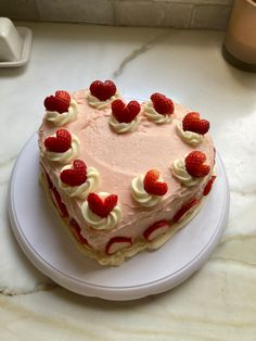 Pretty Birthday Cakes, Pretty Cakes, Happy Birthday, Think Food, Love Food, Cute Desserts, Dessert Recipes, Just Cakes, Aesthetic Food