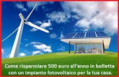 ilSalvadanaio.info: Come #risparmiare #500euro all'anno con un impianto...