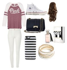 """""""Ivankka the styles ❤️❤️"""" by ivankkamartinez on Polyvore featuring River Island, Converse, Aspinal of London, Kate Spade and ZooShoo"""