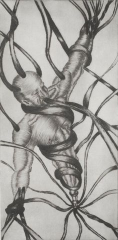 Senza titolo (dry point-engraving)
