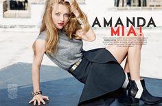 amanda ben watts1 Amanda Seyfried Poses for Ben Watts in Glamour Paris Shoot